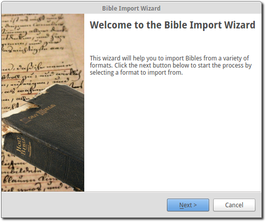 Bibles — OpenLP 2 4 Reference Manual