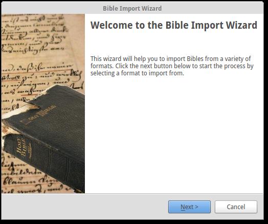 openlp bible downloads